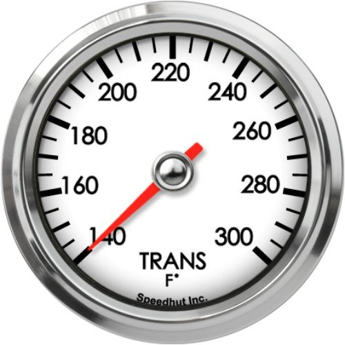 Speedhut GL26-TT02 Trans Temp Gauge 140-300F, 2-5/8'' by SpeedHut