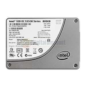 """Intel DC S3500 800GB 2.5"""" Serial ATA III - Disco duro sólido (800 GB, 2.5"""", Serial ATA III, 500 MB/s, 6 Gbit/s)"""
