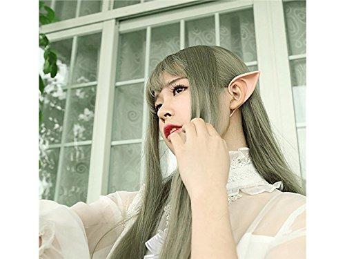 Yingbo-au Costume Cosplay Qualité Durable Oreilles Créatif Fée Elfe Halloween Robe Approvisionnement Quotidien (coloré)
