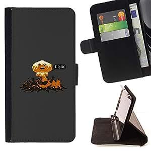 Momo Phone Case / Flip Funda de Cuero Case Cover - I Lol'D Abstract - Funny - Samsung Galaxy S4 IV I9500
