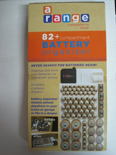 Duracell All Purpose Batteries AA, AAA, C, D, + Organizer by MBS
