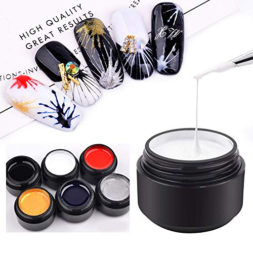 Fine Ur Sugar 5ml Spider Gel Creative Wire Drawing Nail Gel Lacquer Point To Line Painting Gel Polish Pulling Silk Spider Nail Art Nail Gel Beauty & Health
