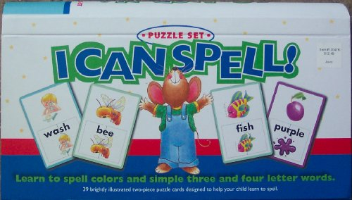 I Can Spell, Learn To Spell Colors and Simple Three and Four Letter Words (I Can Spell compare prices)