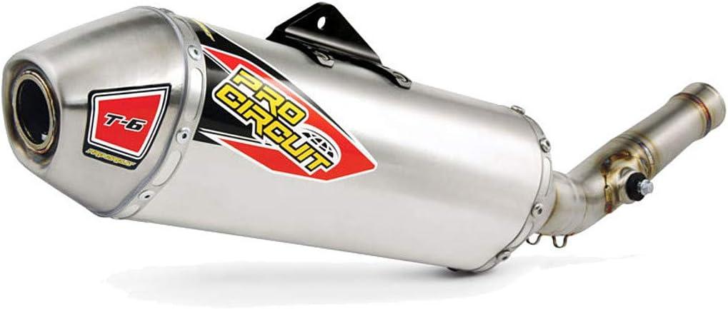 Pro Circuit 17-18 Kawasaki KX250F T-6 Slip-On Exhaust Stainless Steel
