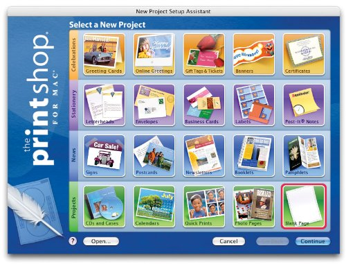Desktop Publishing Software for all your printing jobs.