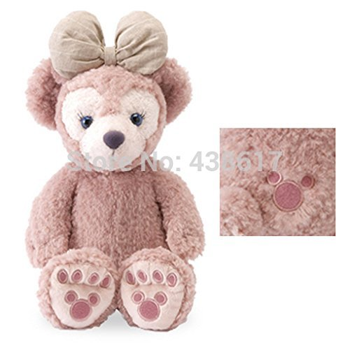 Free Shipping Original Mickey Minnie Mouses Duffy ShellieMay Teddy Bear Limited Edition Plush Pelucia Toys 43cm Dolls Gifts
