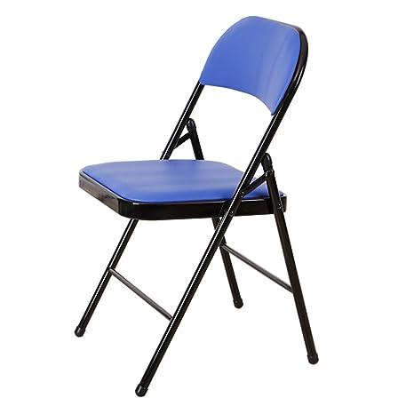 Amazon.com: Sillas plegables gruesas para casa/silla ...