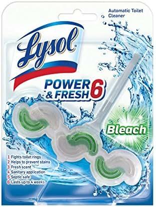 Toilet Cleaner: Lysol Power & Fresh