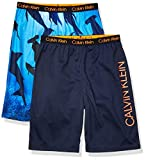 Calvin Klein Boys' Lounge Pajama Shorts, 2