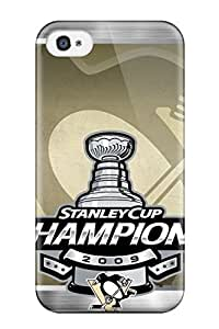 Jimmy E Aguirre's Shop popular pittsburgh penguins (30) NHL Sports & Colleges fashionable For Apple Iphone 4/4S Case Cover 1575208K465189840