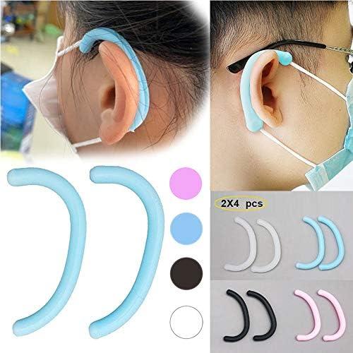 Maske Ohrenschützer Zubehör, schützen Sie Ihre Ohrlöcher, Maske Ohrbügel Haken für Masken, Band zur Linderung von Druck und Schmerzen bei langem Tragen von Ohren, für Erwachsene und Kinder