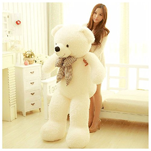 70CM Giant Big Plush Stuffed Teddy Bear Huge Soft 100% Cotton Toy Best (Giant Teddy Bear Costume)