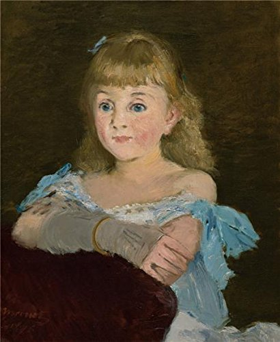 [The Perfect Effect Canvas Of Oil Painting 'Edouard Manet,Portrait Of Lise Campineanu,1878' ,size: 12x15 Inch / 30x37 Cm ,this Amazing Art Decorative Canvas Prints Is Fit For Game Room Decoration And Home Artwork And] (Safari Guide Costume Uk)