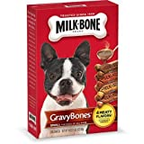 Milk-Bone GravyBones Dog Biscuits – Small, 19-Ounce (Pack of 3 Boxes) For Sale