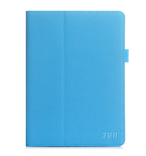 FYY Case for Samsung Galaxy Tab S2 9.7 - Premium Leather Case Stand Cover with Card Slots, Note Holder, Elastic Strap for Samsung Galaxy Tab S2 9.7