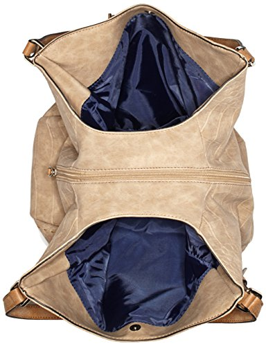 Bandoulière Beige 750 WEBER Shopper GERRY Sac Lvz Prettiness Beige AXnq7