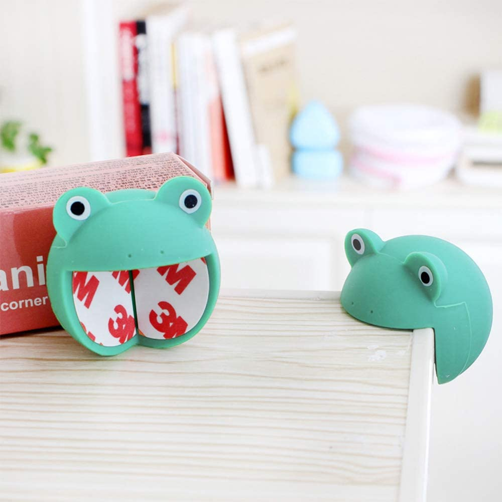 Baby Corner Guards Child Safety Corner Buffers with Self-Adhesive Stickers Table Corner Protectors for Baby 2pcs Cute Animal Table Corner Protectors