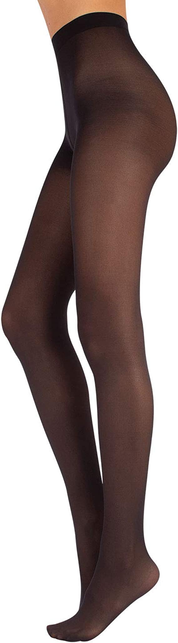 Noir Fabriqu/é en Italie CALZITALY Collants de Danse Femme avec Pied S 40 DEN M XS XL L Rose