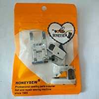 Brother Singer Foot Leveling Button XC3021051 With Low Shank Adapter For Baby Lock SA176 J HONEYSEW Zigzag
