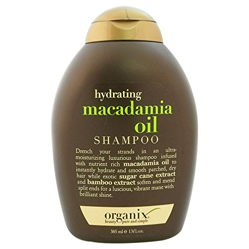 OGX Hydrating + Macadamia Oil Shampoo, 13 Ounce ()
