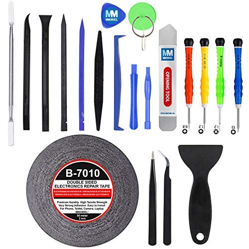 MMOBIEL 21 in 1 Professional Premium Repair Kit Screwdriver Tool Set for Smartphones Tablets and Multimedia Notebooks by MMOBIEL