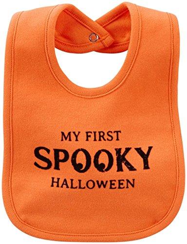 Carter's My First Halloween Bib - Cotton - Orange