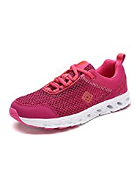 Dream Pairs 160712-2-W Women's New Light Weight Comfort Sole Easy Walking Casual Athletic Slip On Water Swim/Sport shoes