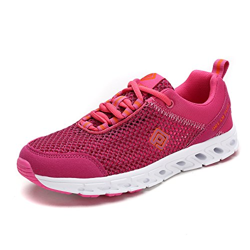 DREAM PAIRS Womens Athletic Slip On Water Shoes Fuchsia-2 d5Q9l5