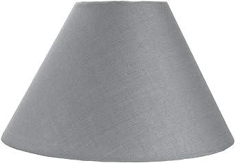 Pantalla Tradicional 10 tipo Coolie de Algodón color gris adecuado ...