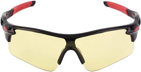 Ballylelly Moda Hombres Mujeres Ciclismo Bicicleta Montar Gafas de ...