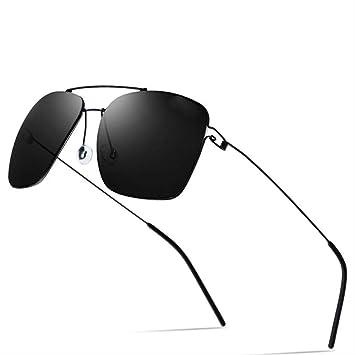 LKVNHP Gafas De Sol Polarizadas para Hombres Diseño De Marca ...