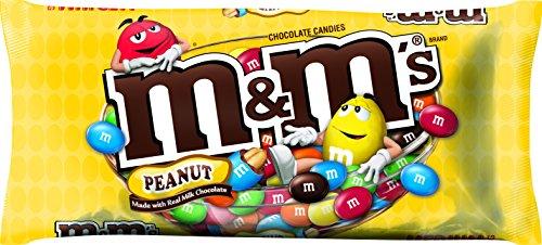 M&M'S Peanut Chocolate Candy Bag