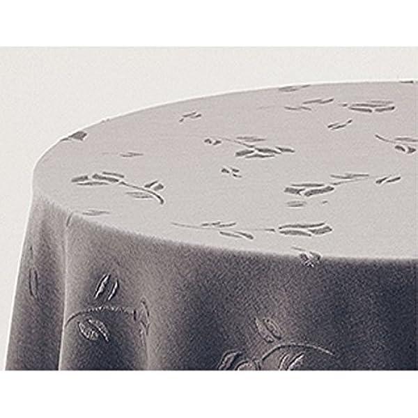 Falda para Mesa Camilla Modelo Deluxe 792, Color Gris 710, Medida Redonda 100/243cm Ø (También Disponible en Distintos Colores, Formas y Medidas): Amazon.es: Hogar