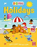Holidays: With scenes, activities and a giant fold-out picture (Big Stickers for Tiny Hands)