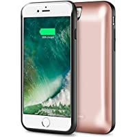 iPhone 7 Battery Case Cheeringary 5200mAh Rechargeable Extended Battery Charging Case for IPhone 7 4.7 External Battery Charger Case Backup Power Bank Case Slim Juice Pack Black