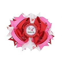 Valentine's Hair Bow (Baby's First Valentine's Day)