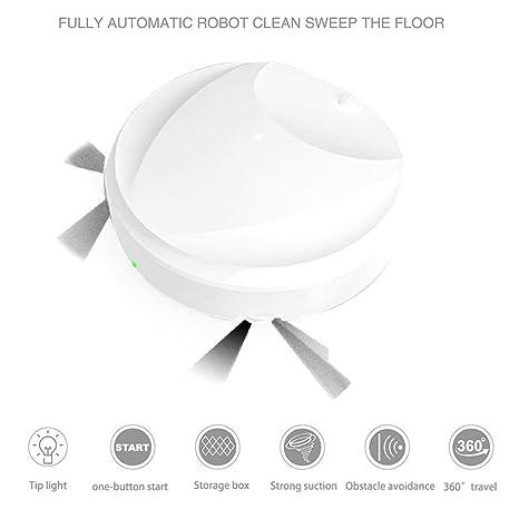 Gugio 3 en 1 Aspirador Robot para Apartamentos/Casa Pequeña ...