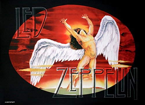 LPGI Led Zeppelin Icarus Fabric Poster, 30 by 40-Inch