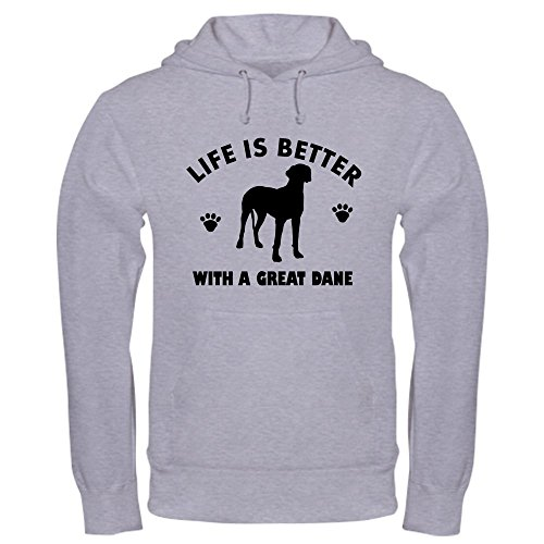 - CafePress Great Dane breed Design Hooded Sweatshirt - Pullover Hoodie, Classic & Comfortable Hooded Sweatshirt