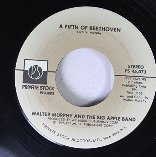 Walter Murphy and The Big Apple Ban 45 RPM A Fifth of Beethoven / California - R Ban