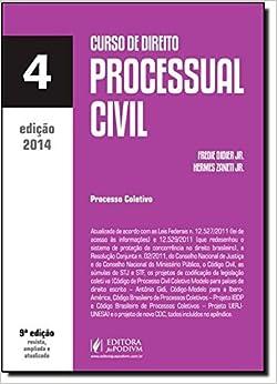 Book Curso De Direito Processual Civil - Volume 4