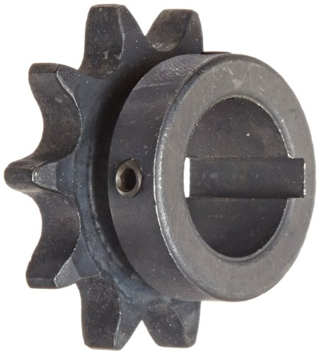 Martin Roller Chain Sprocket, Bored-to-Size, Type B Hub, Single Strand, 50 Chain Size, 0.625