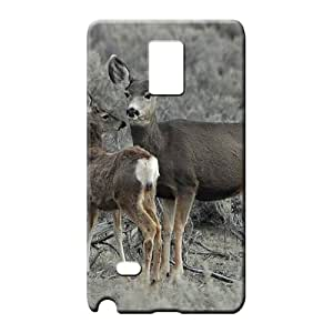 samsung note 4 Popular Hot Style Protective phone cases mother deer fawn