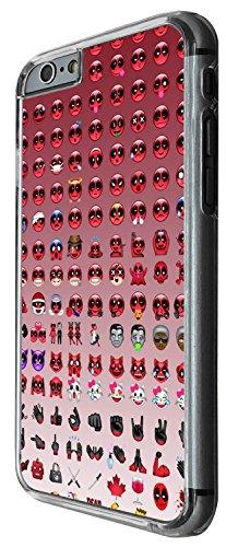 1259 - Cool Fun Trendy cute funny emoji apps evil happy icon emoticon fashion Design iphone 4 4S Coque Fashion Trend Case Coque Protection Cover plastique et métal - Clear