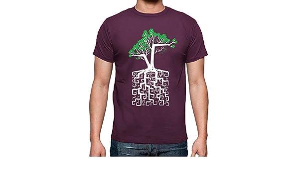 latostadora - Camiseta Raíz Cuadrada para Hombre Burdeos L: c0y0te7: Amazon.es: Ropa y accesorios
