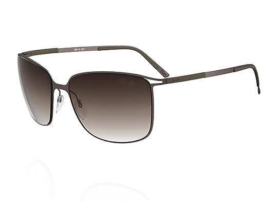 4a188b35237 Amazon.com  Silhouette Sunglasses Titan Contour (8153 BROWN)  Clothing