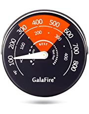 Magnetic Stove Thermometer for Wood Burning Stoves Gas Stoves Pellet Stove Stoves Avoid Stove Fan Damaged by Overheat