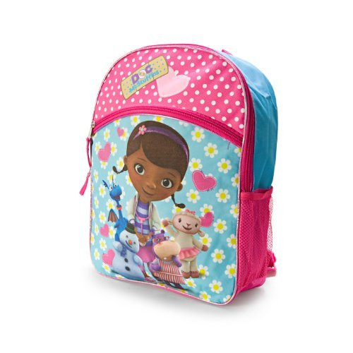 Disney Junior Doc McStuffins Large Pink Backpack by Animewild