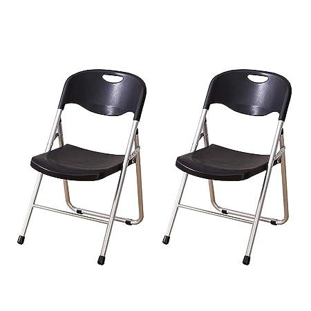WYYY silla de Oficina Silla Plegable Silla De Recepción De ...