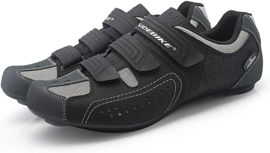 WL Herren Fahrradschuhe, Breathable Cycling Spinning Schuhe